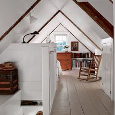 22 Creative Room Makeovers | Cozy Sleeping Loft | CoastalLiving.com