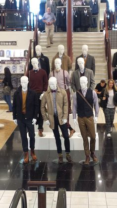 Mannequin styling, visual merchandising