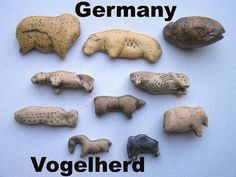 From the Vogelherd Caves.