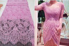 Sangkara Brokat: Brokat Semiprancis Halus Kebaya Brokat, Dress Brokat, Model Kebaya, Fabric Photography, Formal Dresses, Wedding Dresses, Hijab Fashion, Lace Skirt, Womens Fashion