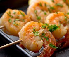 Tequila-Orange Grilled Shrimp - Serve with Cilantro Lime Rice