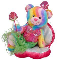 Mermaid Rainbow Hugs Bear - Build-A-Bear Workshop US