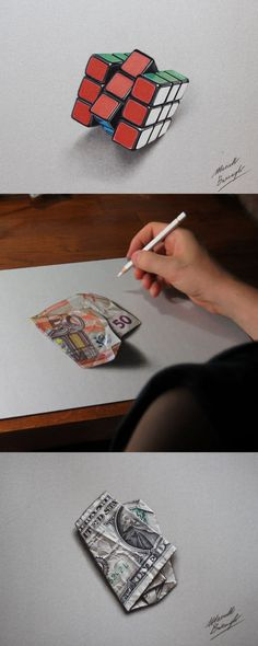 Incredible hyper-realistic drawings by Italian artist Marcello Barenghi