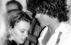 Kylie Minogue has opened up about her relationship with Michael Hutchence for a new documentary about the late INXS frontman. Boys Who, Bad Boys, Natalie Imbruglia, Archive Footage, Bbc Two, Michael Hutchence, Tribeca Film Festival, New Clip, Kylie Minogue