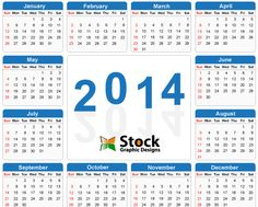 Free Vector Happy New Year  Calendar HttpWwwCgvectorCom