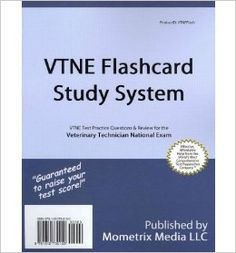 Vtne Flashcard Study System: Vtne Test Practice Questions & Review for the Veterinary Technician National Exam (Cards) - Common: By (author)...