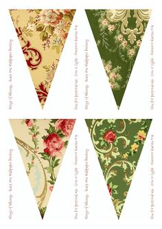 Sears Vintage Wallpaper Flags No 49-56 – Mix & Match