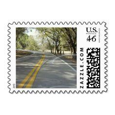 Sunday Drive Postage Stamp