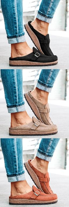 Mensootd is filled with the season's hottest trends, available in all sizes. You can buy the trendy fashion shoes, clothing and bags here. Enjoy your shopping journey now! Comfy Shoes, Cute Shoes, Me Too Shoes, Street Style Outfits, Fall Outfits, Trendy Outfits, Stuart Weitzman, Stylish Sandals, Casual Sneakers