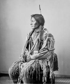 Good Hawk ~ 1872  Hunkpapa Lakota Sioux Tribe ~ North & South Dakota