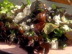Roasted Baby Beet and Baby Carrot Salad with a Sherry Walnut Vinaigrette recipe from The Essence of Emeril via Food Network