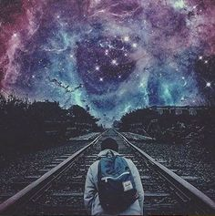 stop and observe the universe