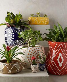 Design Decor & Disha: Anthropologie Inspired Planters, Planters, Ceramic Pots