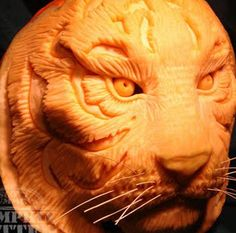 click for tutorial on how to carve extreme pumpkins