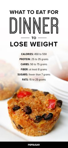 Follow This Formula For Dinner and Lose Weight