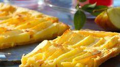 Blätterteig ist nicht nur gut zu füllen, sondern auch eine knusprige Kuchengrundlage, gerade in Kombination mit Apfel!