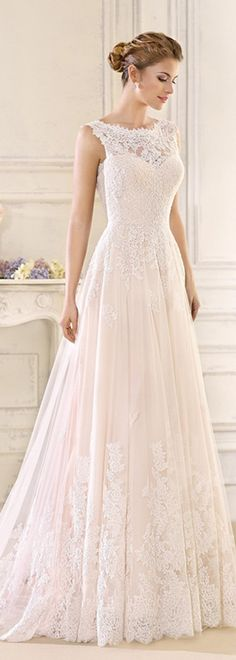 Romantic Tulle & Satin Bateau Neckline A-line Wedding Dresses With Lace Appliques @michaelsusanno  @emmammerrick  @emmasusanno   #TwinFlamesTravelingtheUniverseTogetherMARRIEDwiththeir5CHILDRENforETERNITY  #OurMagicalWedding