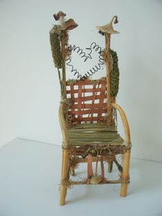 Fairy Chairs And Thrones On Pinterest Fairy Furniture Fairies And