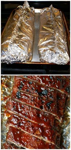 Easy Oven Baked Ribs ~ Cooked low and slow, which makes them so flavorful and fall off the bone tender... One of the easiest recipes ever!