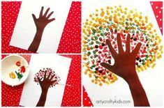 automne 12 painting techniques to try with children - Brico enfant - Trucs et Bricolages Wedding fav Fall Crafts, Diy Crafts For Kids, Art Projects, Projects To Try, The Joy Of Painting, Autumn Trees, Painting Techniques, Art Lessons, Activities For Kids