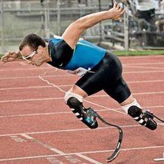 athletes with prosthetic