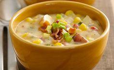 Çorbë me pulë dhe misër