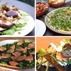 5x gezonde en glutenvrije avondmaaltijd Palak Paneer, Cobb Salad, Foodies, Good Food, Veggies, Low Carb, Menu, Mexican, Lunch