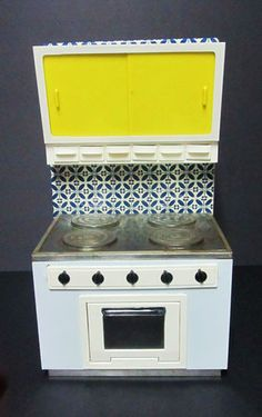 Child's Tin Toy Stove