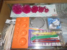 TERRACOTTA JEWELLERY MAKING MATERIALS AVAILABLE AT PANDIAN THREAD STORE | E-BAYZON