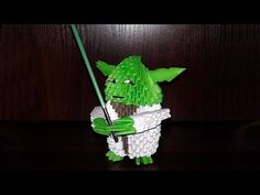 3D origami airplane (aircraft, plane) tutorial (instruction) - YouTube