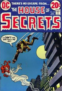 the HOUSE of SECRETS #104 Dc - January - Full Moon - 20 Cents - Building - Nick Cardy