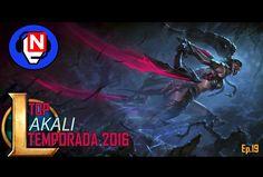 AKALI TOP probamos nueva skin Ep. 19 - League of Legends en español