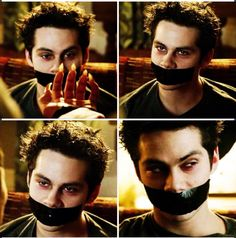 I like Void Stiles with tape over his mouth  credit goes to a lovely tumblr account, but sadly I have no idea where the original came from. Let me know if you do!