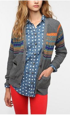 10 Reasons Fall Style Makes Us Jump for Joy: Cardigans! This whole thing makes me jump for joy!