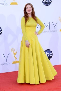 Julianne Moore in Christian @Dior Couture at #Emmys