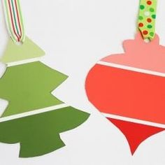 What a GREAT idea! Paint Chip Gift Tags
