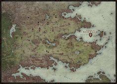 Remake of an older map (levodoom.deviantart.com/art/Si…) --- More about Third Era - www.originworlds.com/third-era