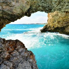 Photo by @oldkyrenian Sea Cave Ayia Napa Cyprus