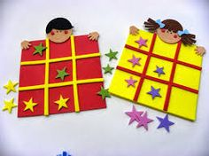 Use jungle theme animals with footboard Kids Crafts, Diy And Crafts, Arts And Crafts, Tic Tac Toe, Outdoor Activities For Kids, Infant Activities, Felt Games, Kids English, Felt Quiet Books