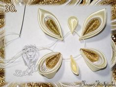 Great tutorial for a ribbon butterly. Looks so pretty for a hairclip.