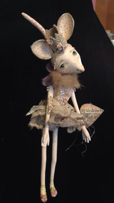 Paperclay Mouse Art Is You 2014