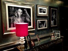 Victoria's Secret London. Sexy gallery wall!!