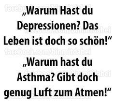 #depressionen #asthma