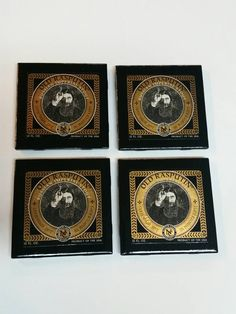 Check out this item in my Etsy shop https://www.etsy.com/listing/236452372/set-of-4-old-rasputin-tile-coasters