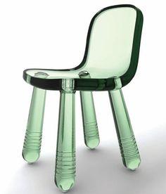 Marcel Wanders | Sparkling Chair #Duurzaam #Hergebruik Gemaakt van het materiaal van PET flessen