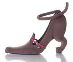 Cat shoe???  If I start wearing these I am officially the Crazy Cat Lady!