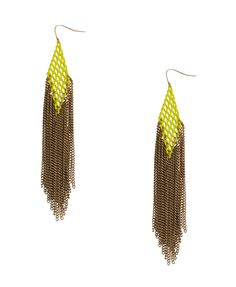 statement earrings are huge for spring, so feel free to go crazy on your ears this season!