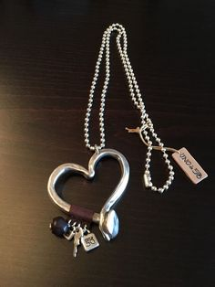 Uno De 50 Statement Long Necklace with Heart Pendant - Love at first sight - NEW in Jewellery & Watches, Costume Jewellery, Necklaces & Pendants | eBay