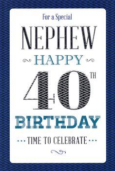ICG Nephew Birthday Card - Balloons, Silver Stars & Silver Text x Happy Birthday Wishes Nephew, Happy Birthday Wishes Quotes, 40th Birthday Cards, Happy Birthday Fun, Happy Birthday Greetings, Birthday Quotes, Happy Birthdays, Famous Words, Time To Celebrate