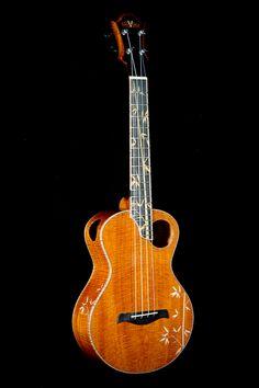 DeVine custom Tenor #LardysUkuleleOfTheDay ~ https://www.pinterest.com/lardyfatboy/lardys-ukulele-of-the-day/ ~